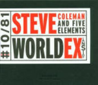 World Expansion - CD Audio di Steve Coleman,Five Elements