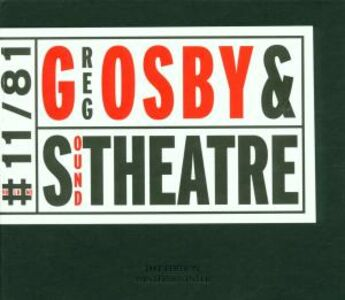 CD Greg Osby and Sound Theatre di Greg Osby