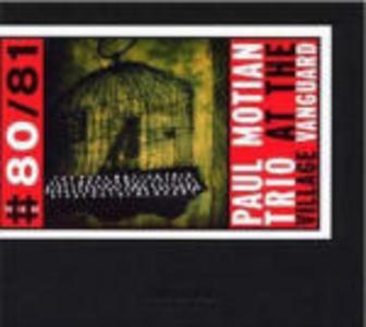 CD At the Village Vanguard di Paul Motian (Trio)