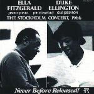 Stockholm Concert 1966 - CD Audio di Duke Ellington,Ella Fitzgerald