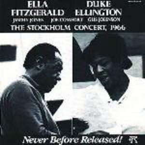 Foto Cover di Stockholm Concert 1966, CD di Duke Ellington,Ella Fitzgerald, prodotto da Concord