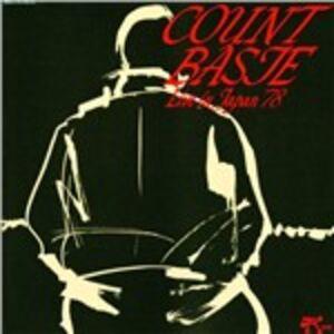 Foto Cover di Live in Japan '78, CD di Count Basie, prodotto da Pablo