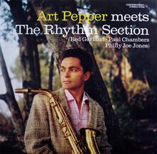 Meets the Rhythm Section - Vinile LP di Art Pepper