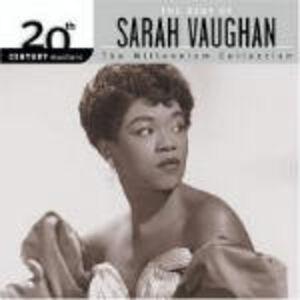 Foto Cover di The Best of Sarah Vaughan, CD di Sarah Vaughan, prodotto da Concord