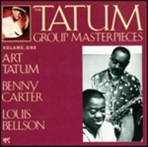CD Tatum Group Masterpieces vol.1 di Art Tatum