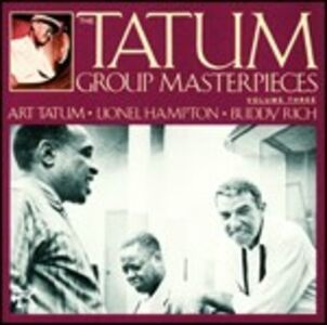 Foto Cover di Tatum Group Masterpieces vol.3, CD di Art Tatum, prodotto da Concord