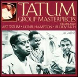 Tatum Group Masterpieces vol.4 - CD Audio di Art Tatum