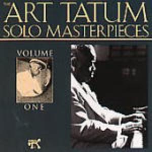 Art Tatum Solo Masterpieces vol.1 - CD Audio di Art Tatum