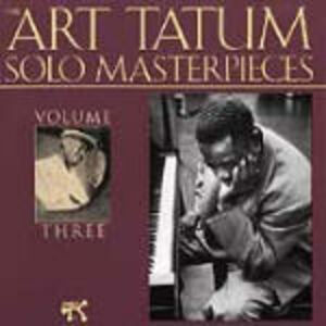 CD Art Tatum Solo Masterpieces vol.3 di Art Tatum