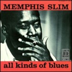 Foto Cover di All Kinds of Blues, CD di Memphis Slim, prodotto da Concord