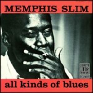 CD All Kinds of Blues di Memphis Slim