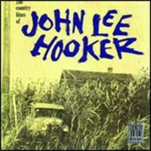 Foto Cover di The Country Blues of John Lee Hooker, CD di John Lee Hooker, prodotto da Concord