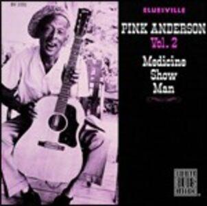 Foto Cover di Medicine Show Man, CD di Pink Anderson, prodotto da Concord