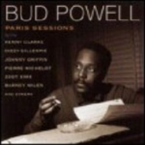 CD Paris Sessions di Bud Powell