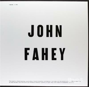 Vinile Blind Joe Death John Fahey