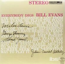 Everybody Digs Bill Evans - Vinile LP di Bill Evans