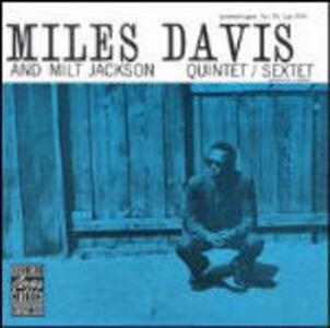 CD Miles Davis and Milt Jackson Quintet/Sextet Miles Davis , Milt Jackson