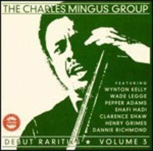 Debut Rarities vol.3 - CD Audio di Charles Mingus