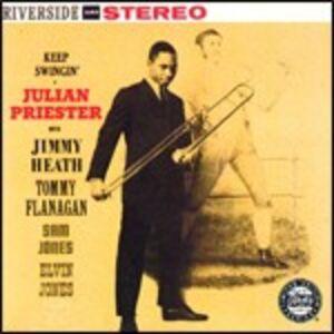 Foto Cover di Keep Swingin', CD di Julian Priester, prodotto da Concord