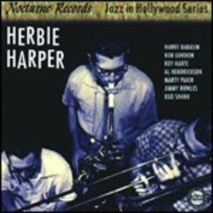Foto Cover di Jazz in Hollywood, CD di Herbie Harper, prodotto da Concord