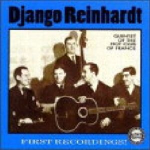 CD Quintet of the Hot Club of France. First Recordings! di Django Reinhardt