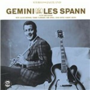 Foto Cover di Gemini, CD di Les Spann, prodotto da Concord
