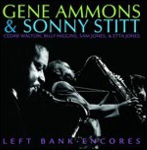 Foto Cover di Left Bank Encores, CD di Gene Ammons,Sonny Stitt, prodotto da Concord