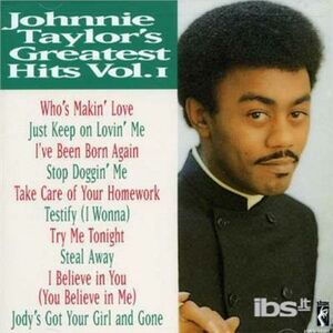CD Greatest Hits di Johnnie Taylor