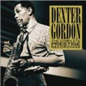 CD The Complete Prestige Recordings di Dexter Gordon