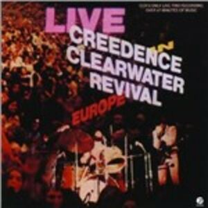 CD Live in Europe di Creedence Clearwater Revival