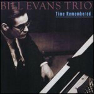 Foto Cover di Time Remembered, CD di Bill Evans, prodotto da Concord