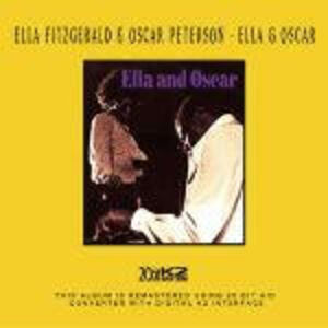 CD Ella and Oscar Oscar Peterson , Ella Fitzgerald