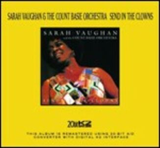 CD Send in the Clowns Sarah Vaughan , Count Basie (Orchestra)