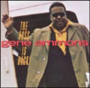 CD The Boss Is Back! di Gene Ammons