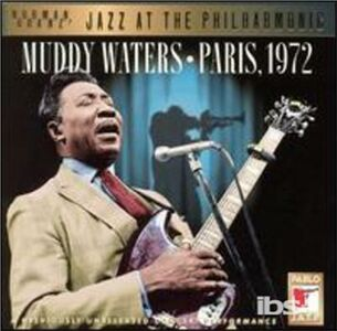 Foto Cover di Paris, 1972, CD di Muddy Waters, prodotto da Pablo