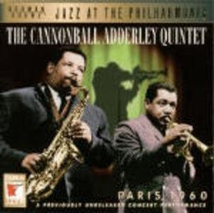CD Paris 1960 di Julian Cannonball Adderley (Quintet)