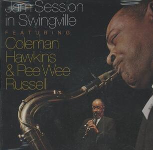 Jam Session in Swingville - CD Audio di Coleman Hawkins,Pee Wee Russell