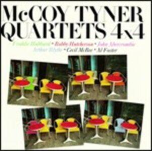 Foto Cover di 4 X 4, CD di McCoy Tyner, prodotto da Concord