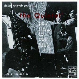 CD Jazz at Massey Hall di Quintet