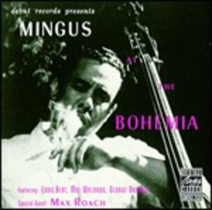 CD Mingus at the Bohemia di Charles Mingus