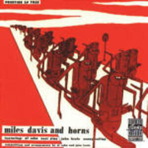 Miles Davis and Horns - CD Audio di Miles Davis