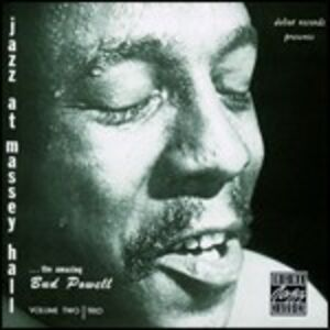 Foto Cover di Jazz at Massey Hall vol.2, CD di Bud Powell (Trio), prodotto da Concord