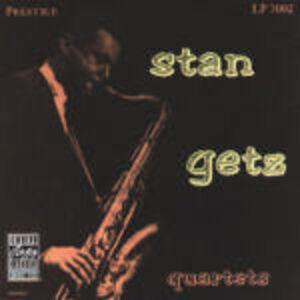 CD Stan Getz Quartets di Stan Getz (Quartet)