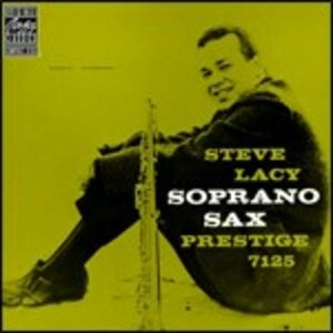 Foto Cover di Soprano Sax, CD di Steve Lacy, prodotto da Concord