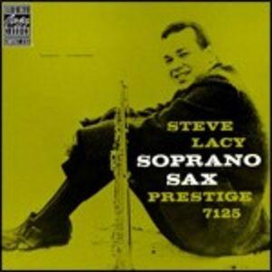 CD Soprano Sax di Steve Lacy