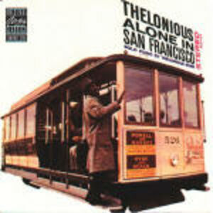CD Alone in San Francisco di Thelonious Monk