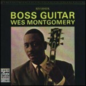 Foto Cover di Boss Guitar, CD di Wes Montgomery, prodotto da Concord