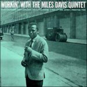 Foto Cover di Workin', CD di Miles Davis, prodotto da Prestige
