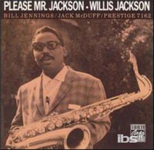 CD Please Mr. Jackson di Willis Jackson (Quintet)