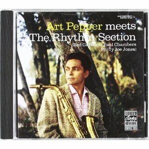 Foto Cover di Art Pepper Meets the Rhythm Section, CD di Art Pepper, prodotto da Concord